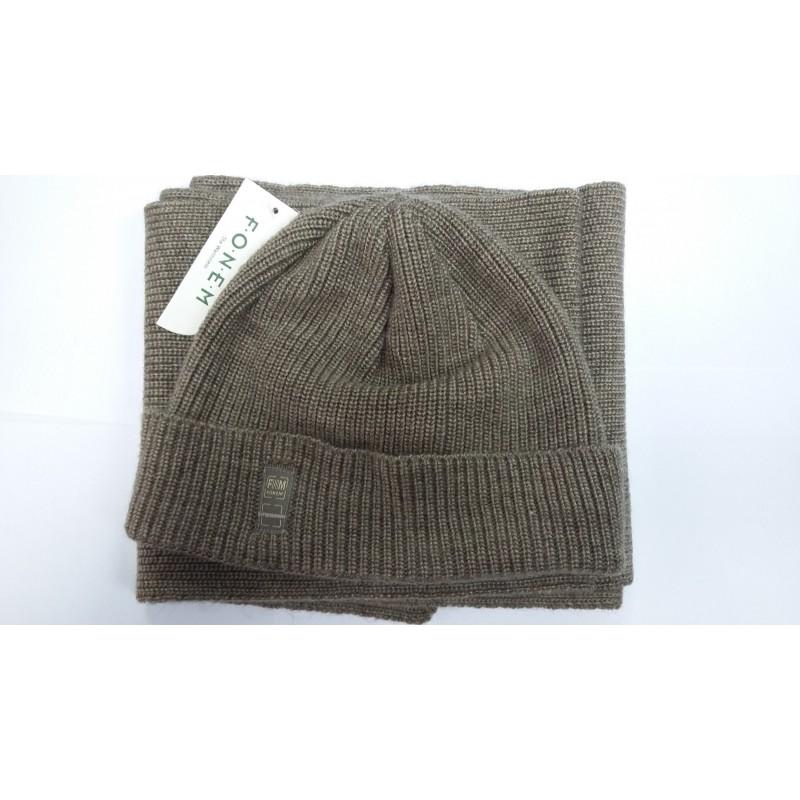 Комплект зимний FONEM шапка-шарф  FO3554 SET  - фото 1